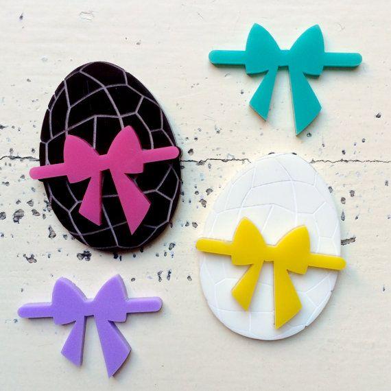 1 Easter Egg DIY Laser Cut Acrylic Supplies by CraftyCutsLaser