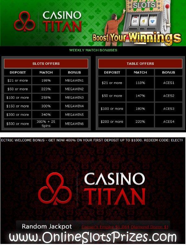 March Fever On Casino Titan March Fever On Casino Titan