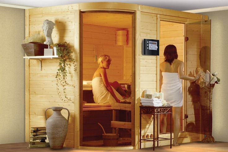 Sauna | Karibu Systeemsauna - Rondira 2 Basismodel