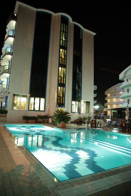Hotel Ambassador, Tortoreto Lido, TE, Abruzzo, Italy.  http://meditour.it/properties/tortoreto-lido/hotel-ambassador/