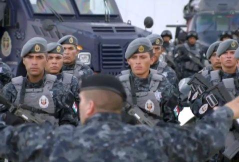 Milenio 140822 - Policía - Presentación de la nueva división de Gendarmería de la Policía Federal
