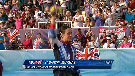 Samantha Murray wins silver in the modern pentathlon to take Team GB's medal tally to 65 at London 2012 Olympics - Telegraph
