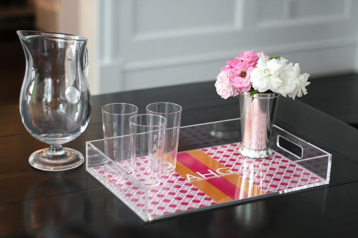 Lucite Tray from Mattie