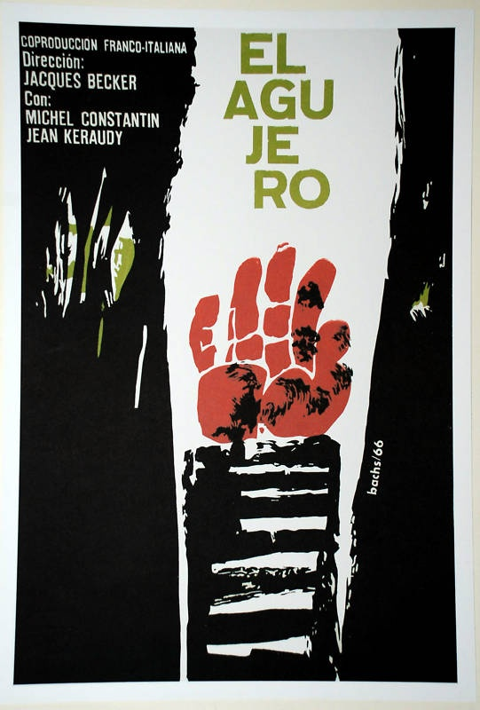 Cuban movie Poster for Cuba film.The HOLE.French art director Jacques Becker | eBay