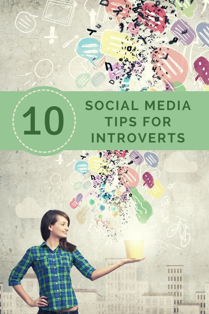 10 Social Media Tips for Introverts - If your introverted personality is making you hesitant to engage more on social media, these tips can help!