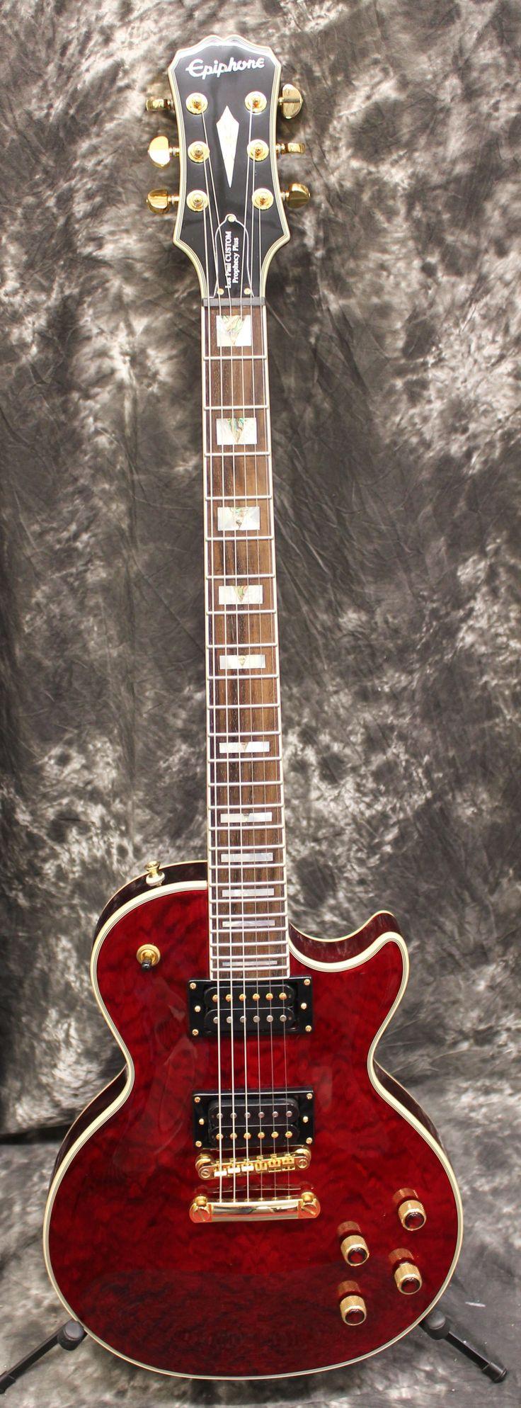 2016 Epiphone Les Paul Prophecy Custom Pro GX Red Electric Guitar w/Case