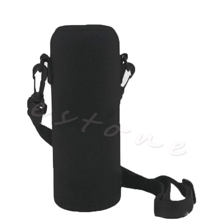 Hot 750 ML Neoprene Bottiglia di Acqua Marsupio Isolato Sacchetto Della Copertura Holder Strap Strumento di Viaggio del Sacchetto