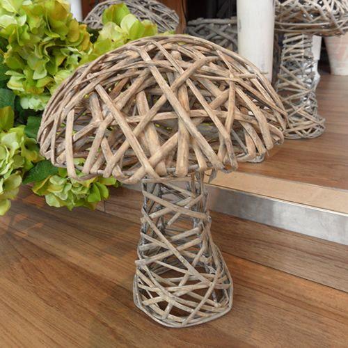 Print DIY Wooden Garden Ornaments: Simple but Chic : Download Wooden Mushroom Garden Ornament   House Design   Decor   Interior Layout   Furnitures