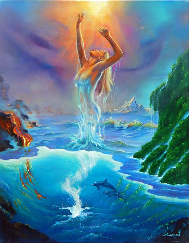 The Spring of Life by Jim Warren