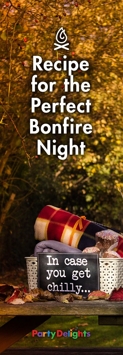 Throw the perfect Bonfire Night party ♥♥ on Guy Fawkes' Night with our ideas and inspiration for a night of fireworks and fun!