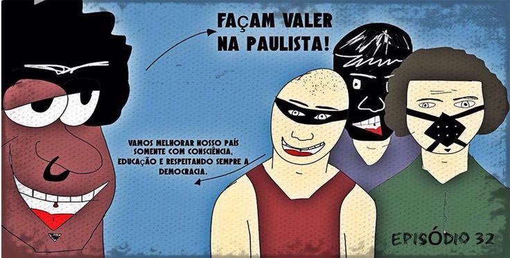https://flic.kr/p/FgPbga | Episódio 32 - Protesto paulista dia 13 de março de 2016 - jamesguetto.com | Episódio 32 - Protesto paulista dia 13 de março de 2016 - jamesguetto.com