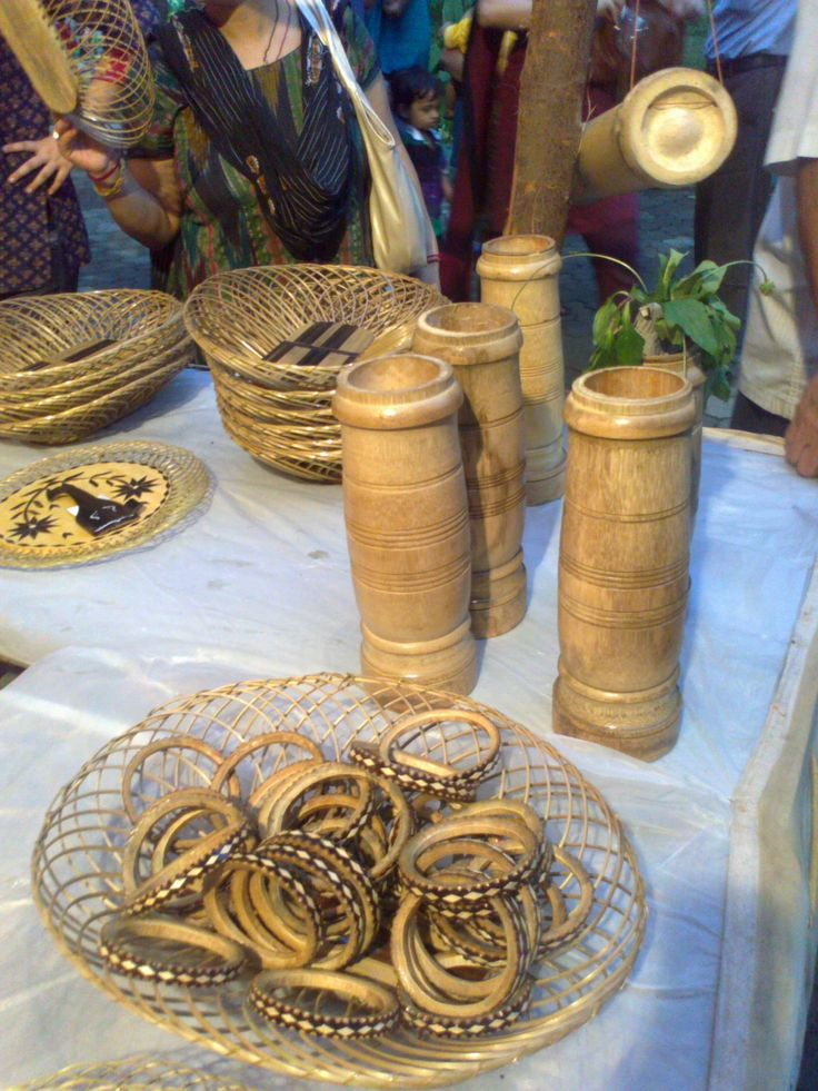 17 best images about bamboo crafts on pinterest knots for Bamboo arts and crafts