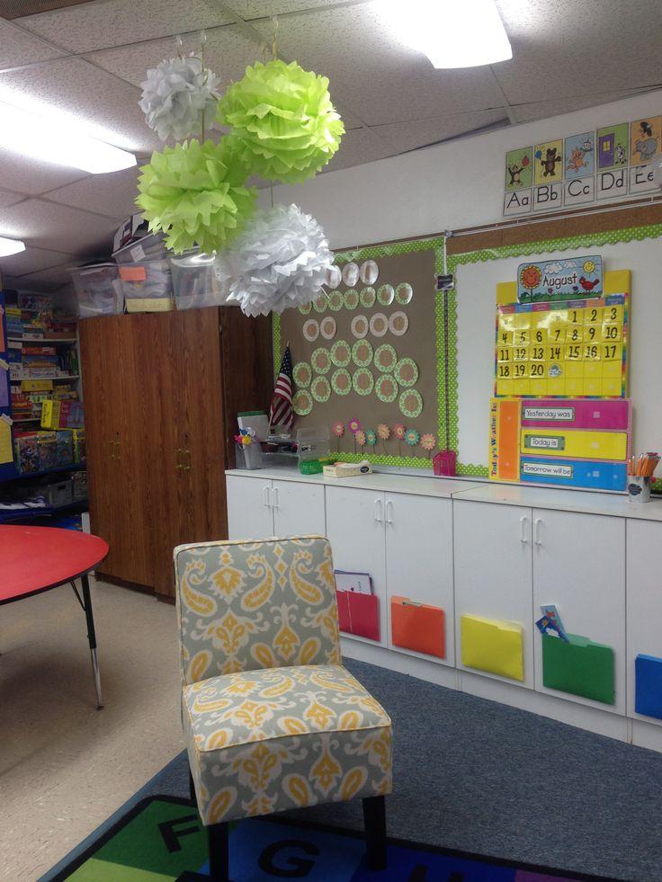 Classroom Decor Gray : Kindergarten classroom decor kinder pinterest