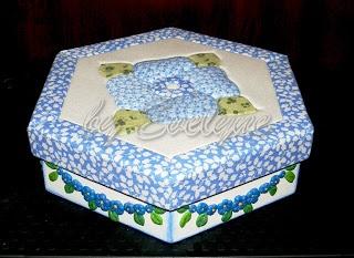 foam patch + cold porcelain + painting + cartonage (on mdf box)