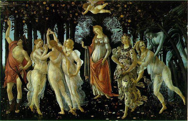 Sandro Botticelli - L'allégorie de printemps , 1482