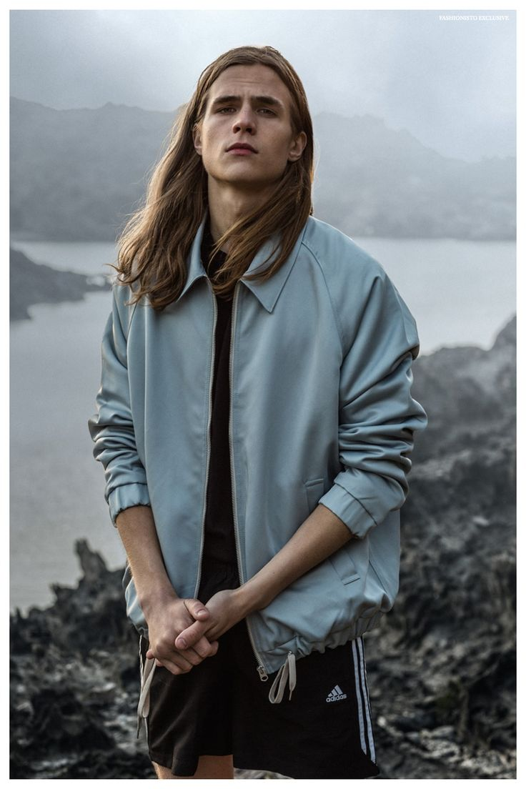 Long Hairstyle and Fashion. Exclusive: Malcolm Lindberg by the Sea