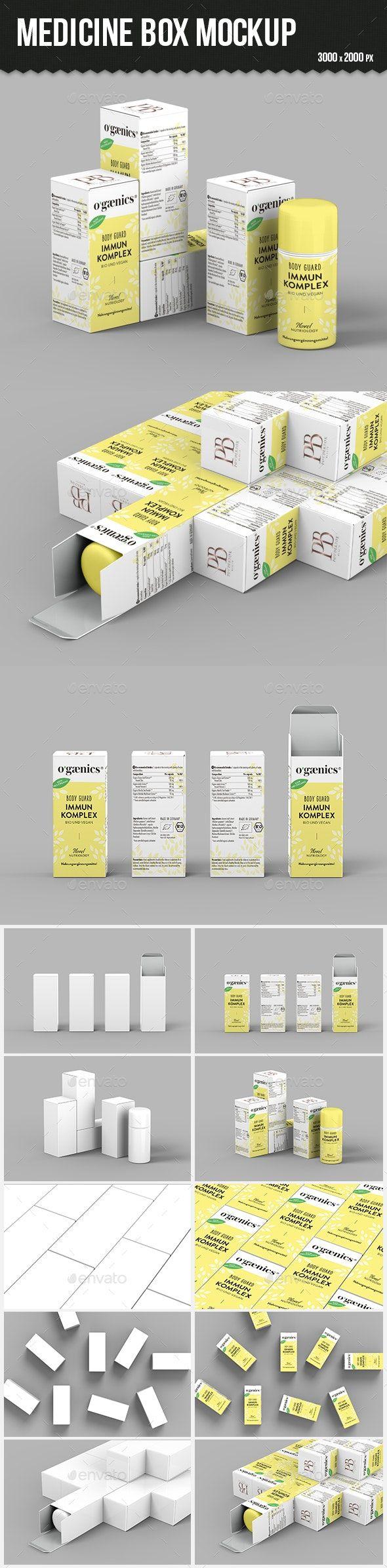 Download Medicine Box Mockup Box Mockup Medicine Boxes Mockup