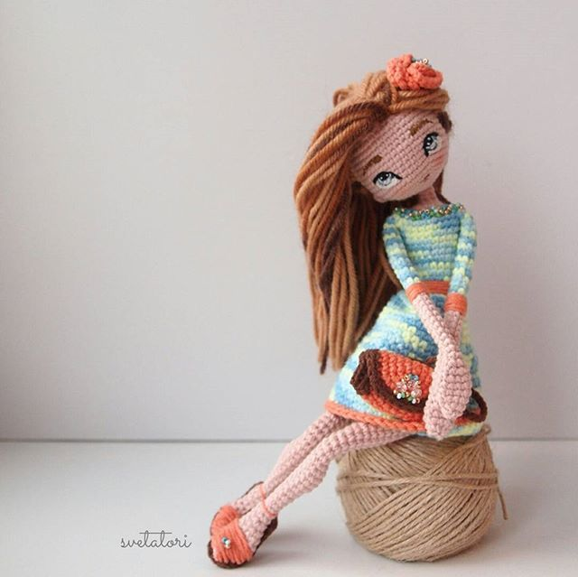 Crochetdolls from Moscow @svetatori Ещё сумочка имеет...Instagram photo | Websta (Webstagram)