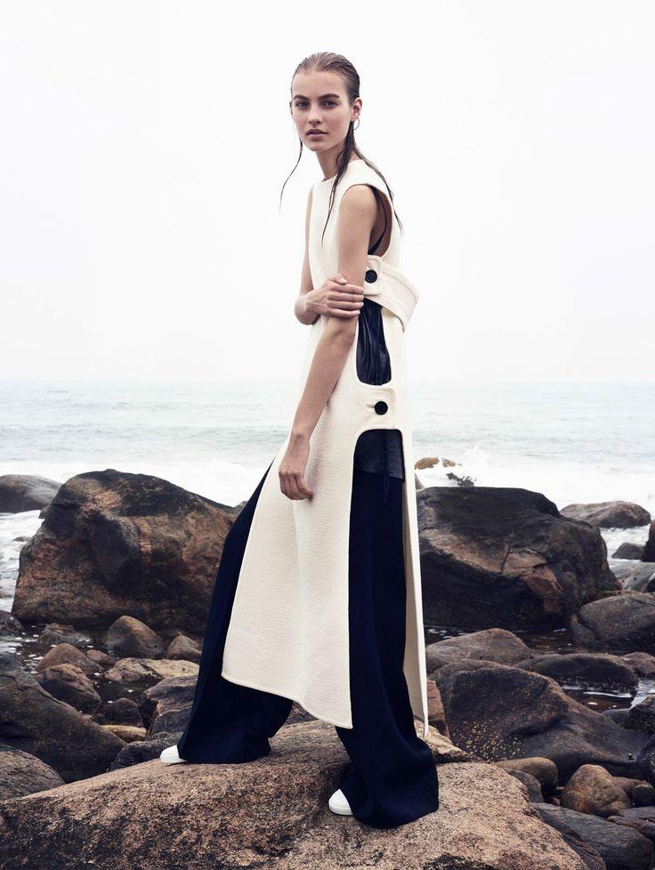 Editorial: Maartje Verhoef in Vogue China   MyDubio