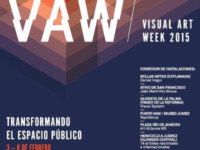 Visual Art Week: Talleres #VAWMX 2015