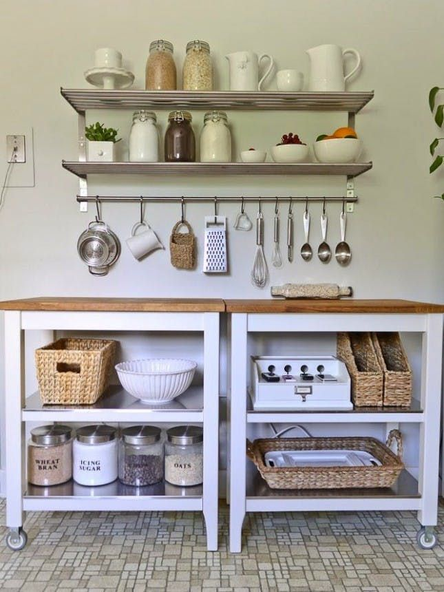 24 Brilliant Ikea Hacks To Transform Your Kitchen And Pantry Via