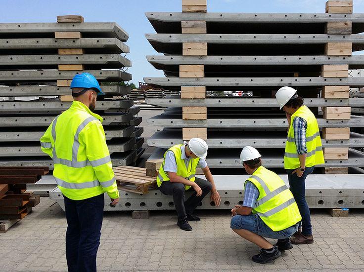 Besiktning produktion av prefabricerade betongelement