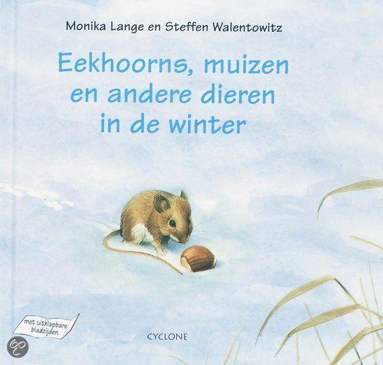 Boekenhoek: eekhoorns, muizen en andere dieren in de winter