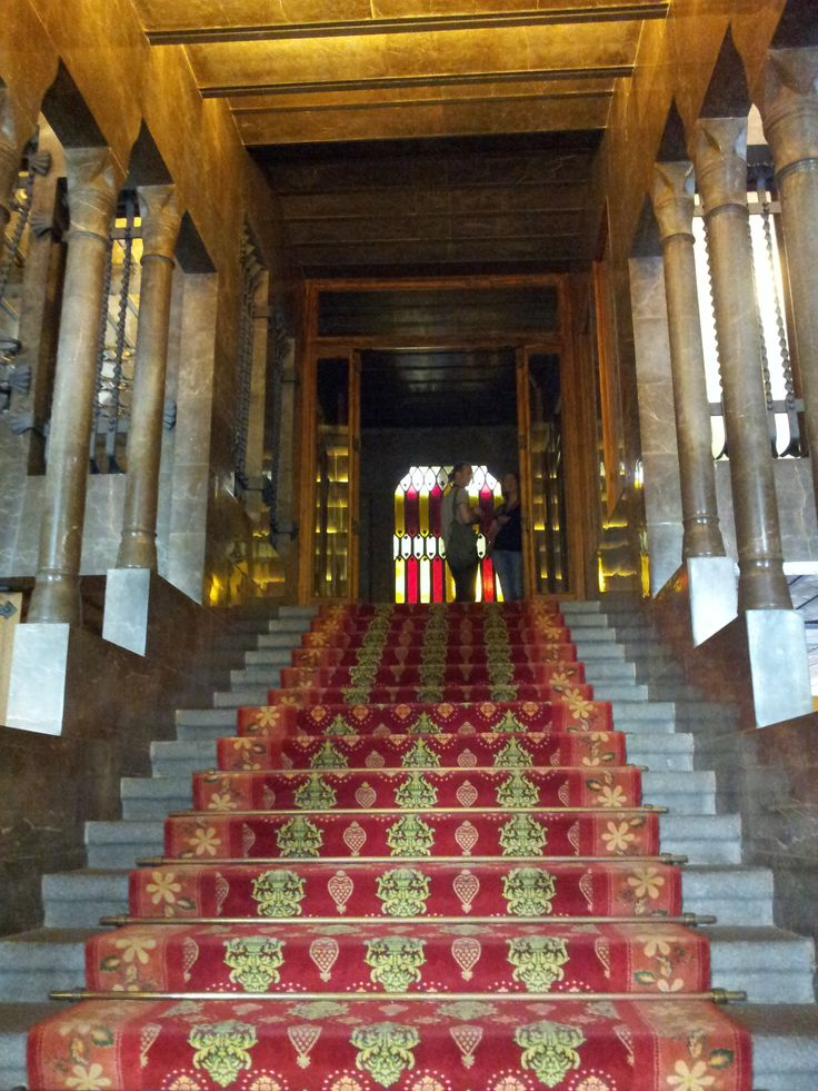 Guell Palace - main staircase