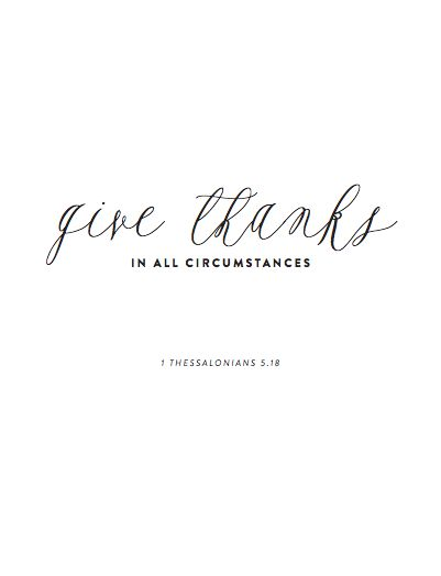1 Thessalonians 5:18...great cover idea for your gratitude journal!