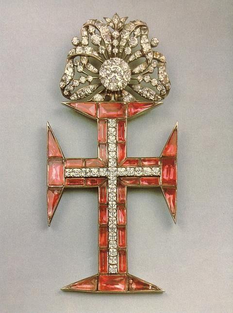 Insígnia de Cavaleiro da Ordem de Cristo, meados do século XVIII