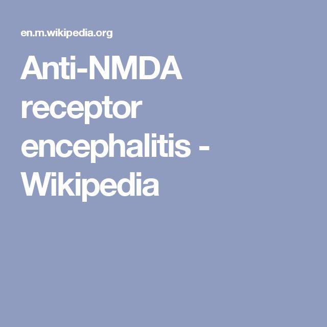 Anti-NMDA receptor encephalitis - Wikipedia