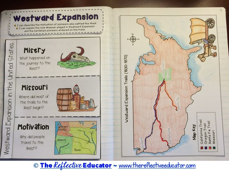 Westward Expansion is a Social Studies lesson designed to teach upper elementary students about pioneers and Westward Expansion in America. Students read an original, content-rich informational text. They use information in the text to create a foldable summarizing the main points. This resource also includes a game that simulates being on the Oregon Trail, and a performance task to conclude the lesson.