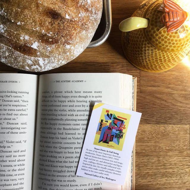 guiltless reading: #BookmarkMonday: Stuart Davis on a Sunday afternoon