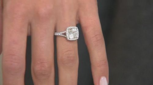 Neil Lane Cushion Cut Engagement Rings | out this bling it s a neil lane cushion cut diamond engagement ring ...