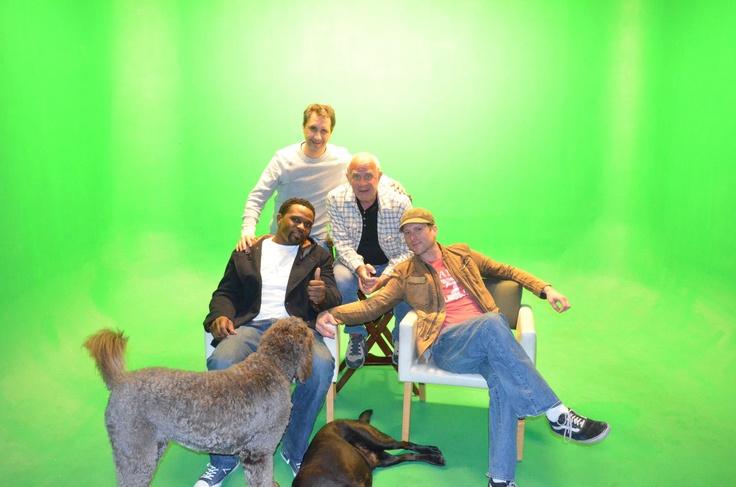 With Darius McCrary - Martin W. Greenwald, Richard Verdoni - Jack and Elbrus!