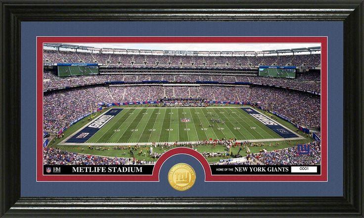"AAA Sports Memorabilia LLC - New York Giants ""Stadium"" Bronze Coin Panoramic Photo Mint, #newyorkgiants #nygiants #sportscollectibles #nflcollectibles $59.99 (http://www.aaasportsmemorabilia.com/nfl/new-york-giants-stadium-bronze-coin-panoramic-photo-mint/)"