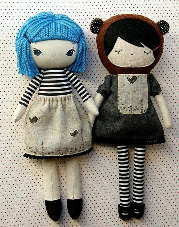 poupée de chiffon, poupées de chiffon originales