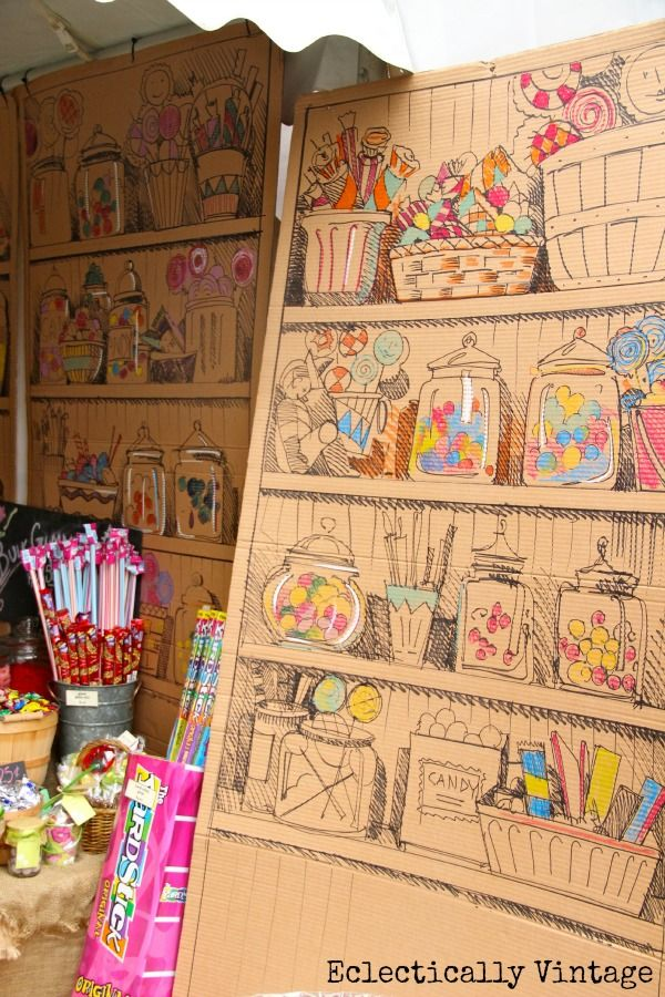 A Day at the Country Living Fair - old fashioned candy shop