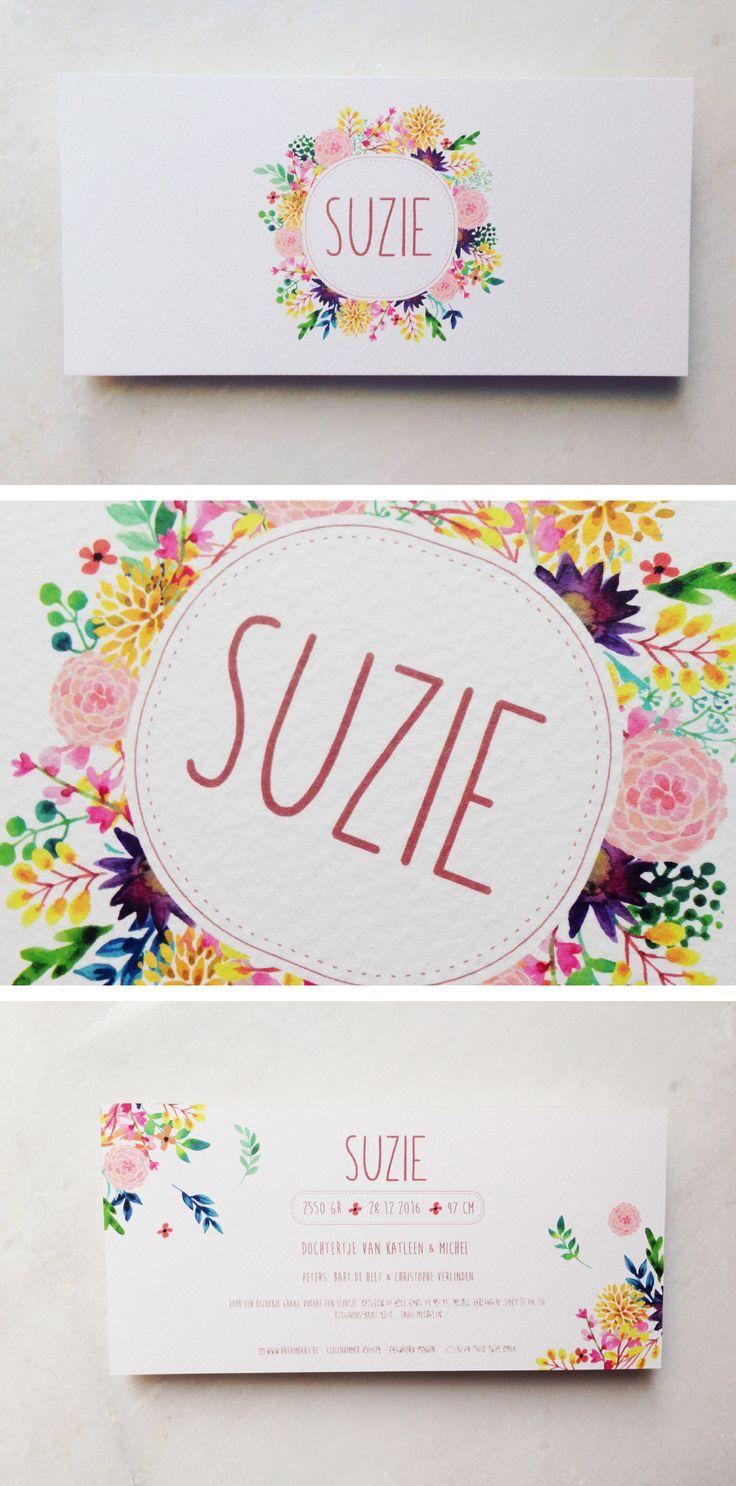 Hi Suzie // bloemen // krans // kleurrijk // vrolijk // lente // meisje // flowers