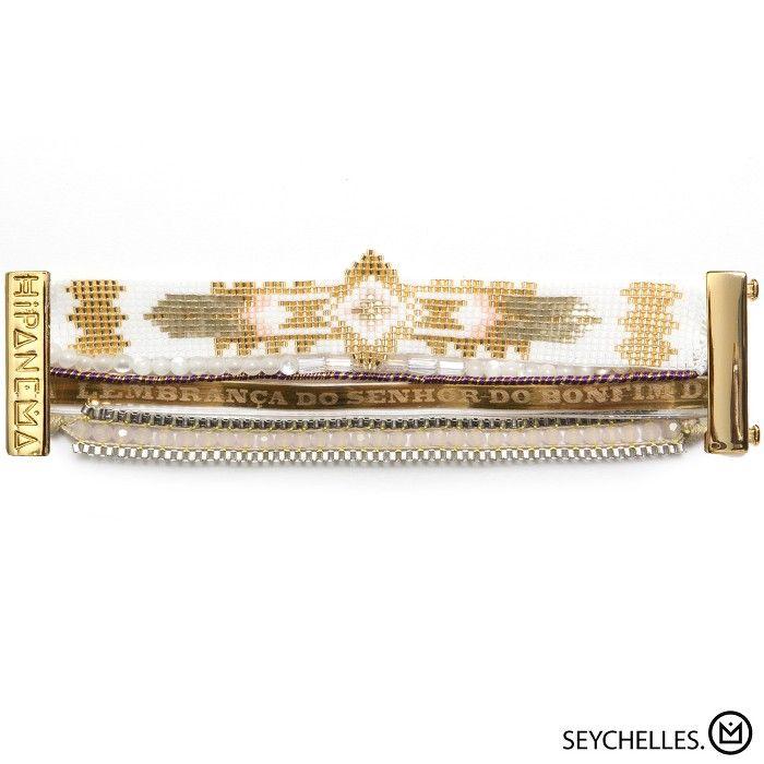 Bracelet Seychelles Hipanema collection été 2015 - à retrouver sur www.lilishopping.com/fr/ - #bracelet #manchette #cuff #hipanema #summer
