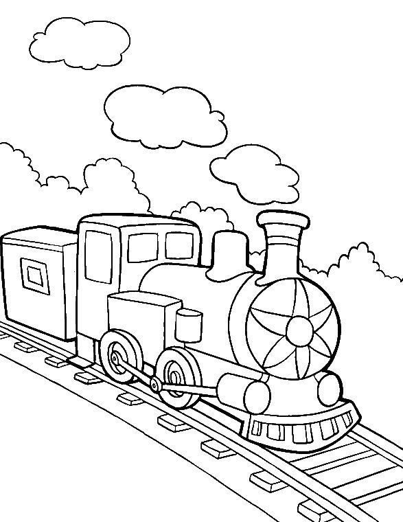 coloring pages for transportation units - photo#24