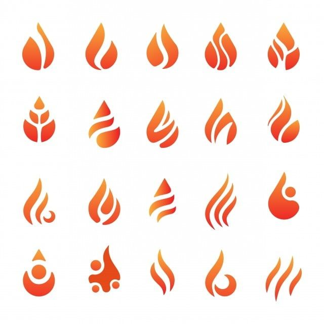Fire Flame Icon Element Vector Isolated Illustration Vector And Png