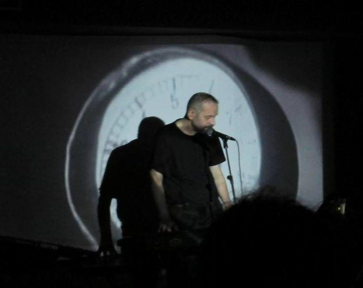 """Vladimír Hirsch at ETOR """"Tenebrae de Profundis"""" festival, Athens, May 7, 2016"""