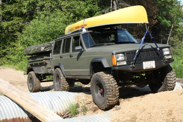 Best Jeep Xj Modifications Xj Trailers Camping Trail Rig