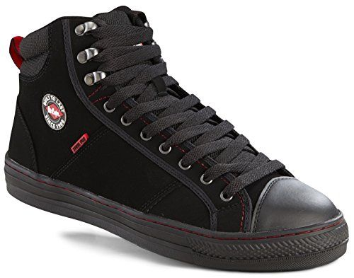 From 34.90 Lee Cooper Mens Safety Lightweight Boot Baseball Trainer Steel Toe Cap Lightweight Flexible Modern Fashionable Padded Ankle Collar Anti-slip Outsole Shoe Branded Unisex Footwear Protection Workwear Work Walking Suitable For All Uses Stylish Attractive & Design Comfortable Black Lc022 Uk 8