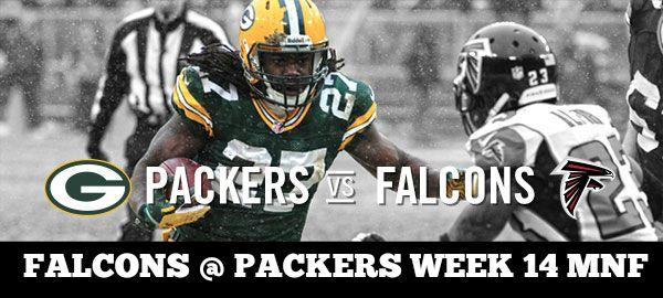 Packers vs. Falcons MNF Week 14 NFL Odds & Expert Picks