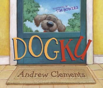 """Here's the mentor text that inspired my writer's notebook page called """"Dogku""""  Click book to see it at Amazon.  Here's the page this book inspired: https://www.pinterest.com/pin/450852612677088316/  Here's my lesson write-up that came from this book: http://www.corbettharrison.com/free_lessons/Vocab-Haikus.htm#3"""
