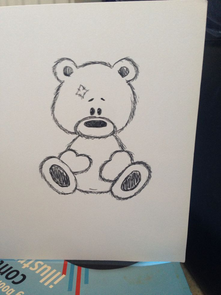 Experimenting with teddy sketches