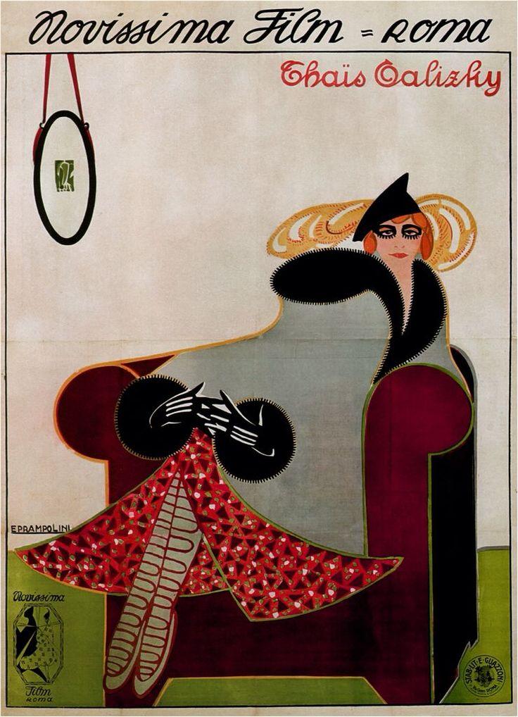 Thaïs Talizky, 1916 Enrico Prampolini - Style - Art Nouveau