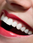 TEETH WHITENER [ • Toothpaste • 1-teaspoon baking soda • ½ teaspoon water • Hydrogen peroxide • Mouthwash] > - In a small bowl, mix a small amount of toothpaste with one teaspoon baking soda and ½ teaspoon water.  - Brush your teeth with the mixture once a week until you have reached your desired results.